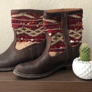 Moroccan handmade boots. Never been worn. New!